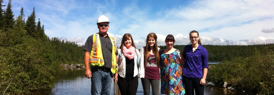 Summer Students and City of Corner Brook